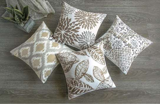 Decorative Unique Throw Pillow Case Cushion Covers a set of 4 pieces at Ksh. 3200 image 10