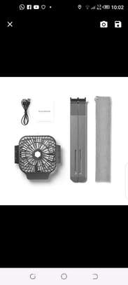 Portable laptop stand with fan image 4