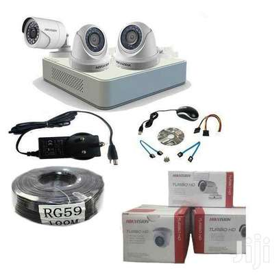 Three 3 CCTV camera Complete cameras sale image 2