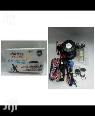Afritec car alarm with cutoff, free installation image 1