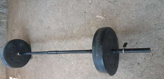 TWO 20KG WEIGHTS GYM EQUIPMENT. image 2