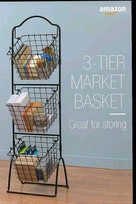 3 tier storage basket image 1