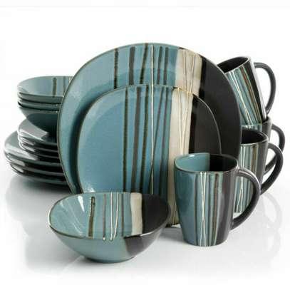 24 pieces Ceramic Dinner set image 2