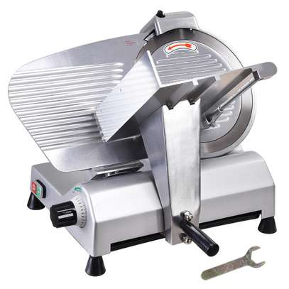 Modern Semi automatic frozen meat slicer image 1