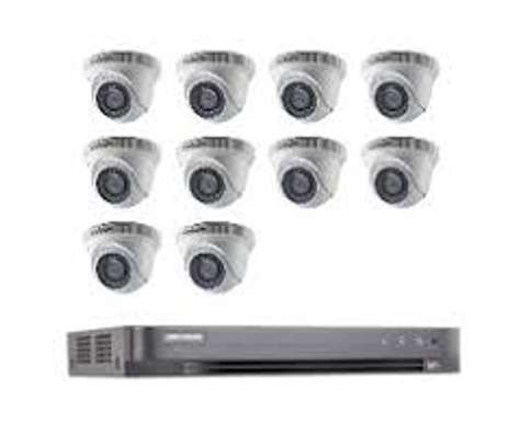 10 HD CCTV Camera Installation Package (Night Vision Enabled+ 2TB HDD + 250m Cable) image 2