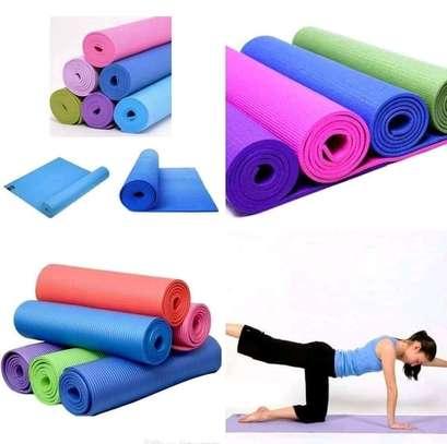 High density Yoga exercise mats image 2