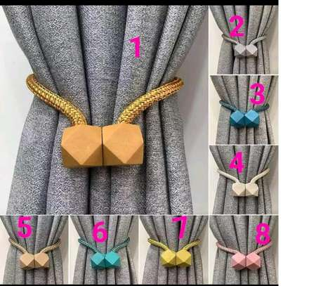 Fancy curtain holders image 2