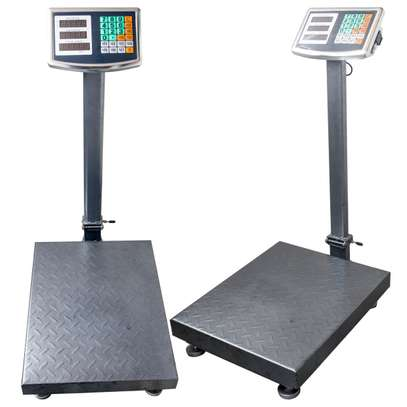 LCD Display 150kg Capacity Weight Platform Scale,High Accuracy weighing scale image 1