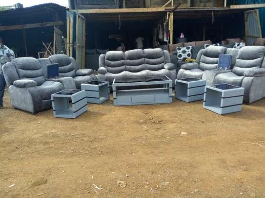 Seven Seater Recliner Sofa