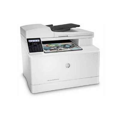 HP Color Laser Jet Pro MFP M181fw Multi function printer+Free Printer Cable image 2