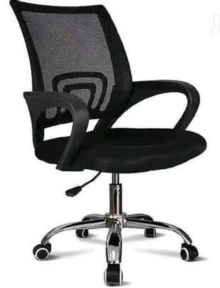 Office chair adjustable in height image 1