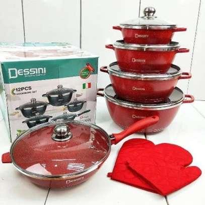 Dessini NEW Dessini 12pcs Italy Cookware Non Stick High Class image 4