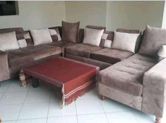 U shaped sofa image 1