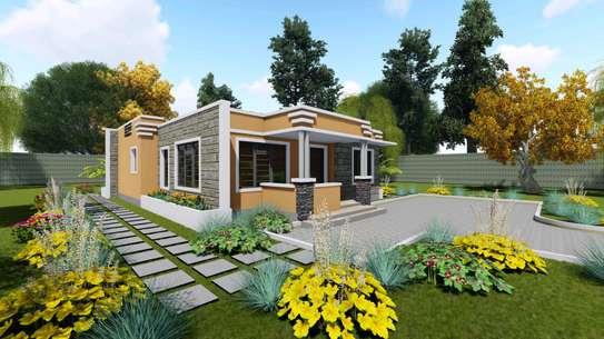 2 bedroom modern bungalow image 2