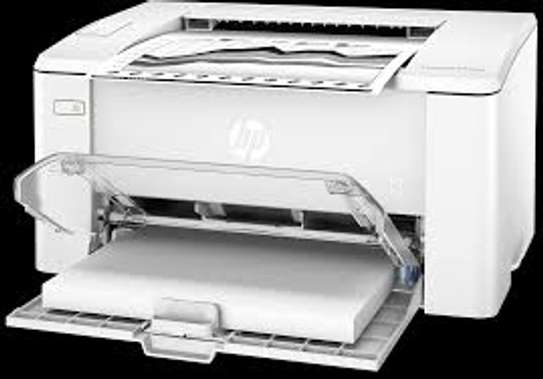 HP LaserJet Pro M102a Printer - White image 1