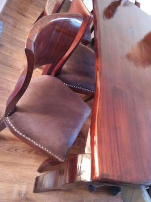 8 Seater Mahogany Dining Sets. (Vintage look) image 4