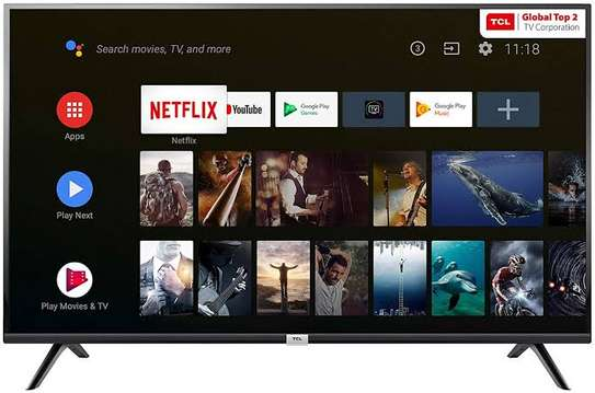 TCL 40 inches Android Smart Frameless Digital TVs image 2