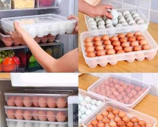 Egg tray holder image 1