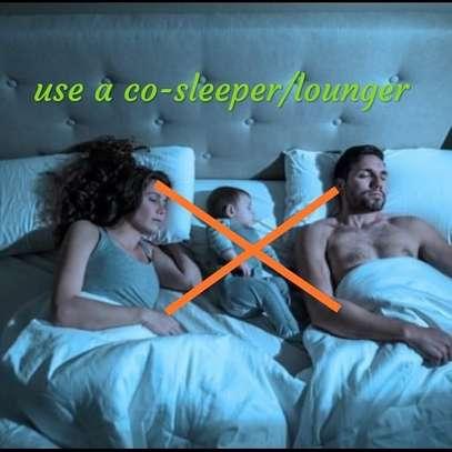 baby co-sleeper/ baby nest/sleep positioners image 6