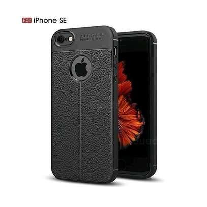Autofocus Auto Focus Back Cover For IPhone SE 5s 5 - Black image 1