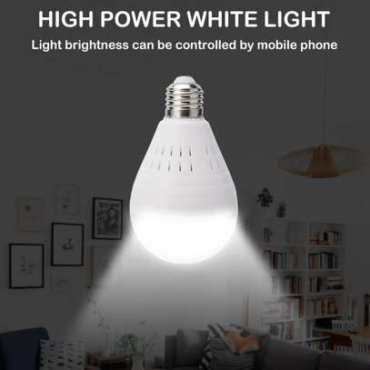 1080P WiFi Camera Light Bulb Panoramic Camera with IR Motion Detection, Night Vision, Two-Way Audio, Cloud Service for Home, Office, Baby, Pet Monitor image 7