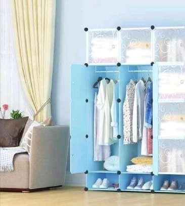 Blue Plastic Wardrobe image 1