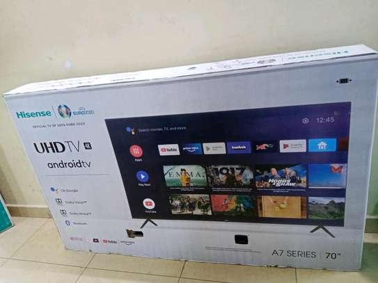 70 Hisense Android Frameless LED Television image 1