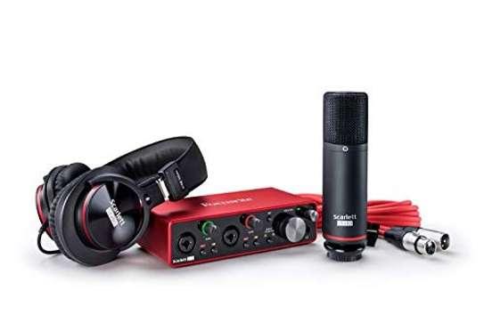 Focusrite Scarlett 2i2 Studio (3rd Gen) USB Audio Interface and Recording Bundle with Pro Tools image 1