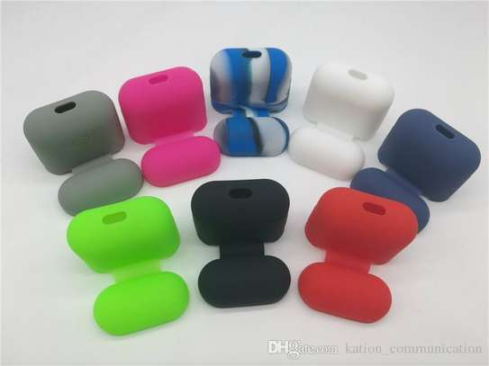 Soft Silicone Case For Apple Airpods Shockproof Cover For Apple AirPods Earphone Cases image 4