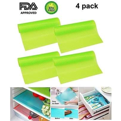 Washable Refrigerator Mats Drawer Mats Table Placemats-4 pack image 3