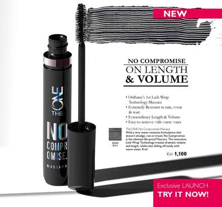 THE ONE No Compromise Water-Resistant Mascara