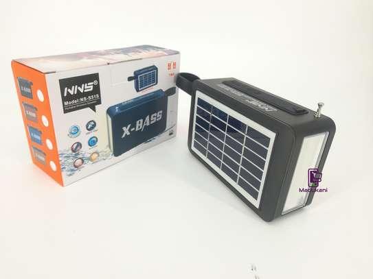 NNS NS-S51S XBASS Bluetooth FM Solar Pocket Radio image 2