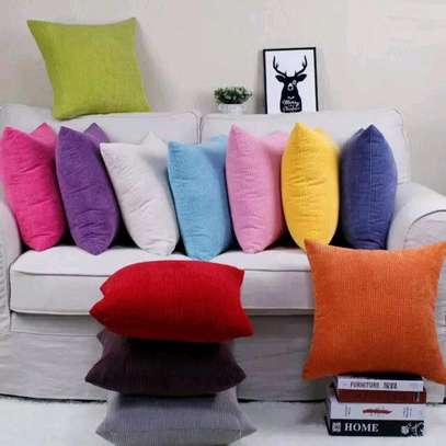 Colourful pillows image 1