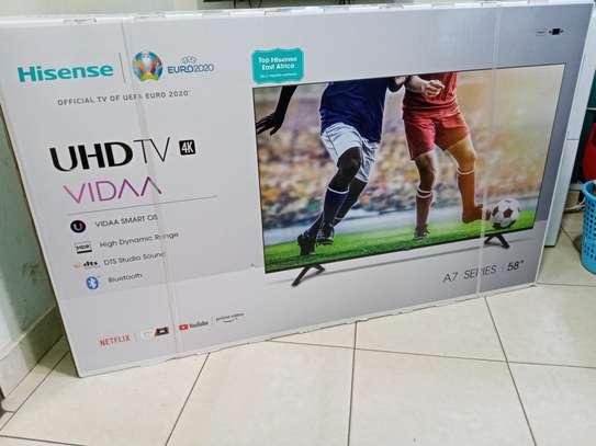 Hisense 58″ Frameless Smart UHD 4K TV + 2 Year Warranty image 2