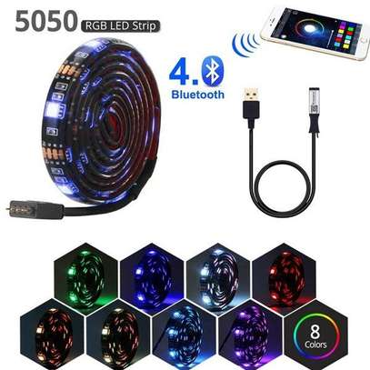 USB TV Backlight Kit With Bluetooth LED controller app control by mobile phone image 1
