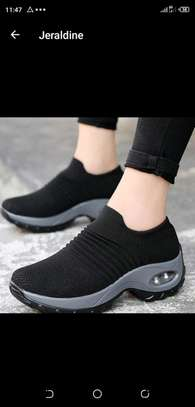 Black sneaker image 1