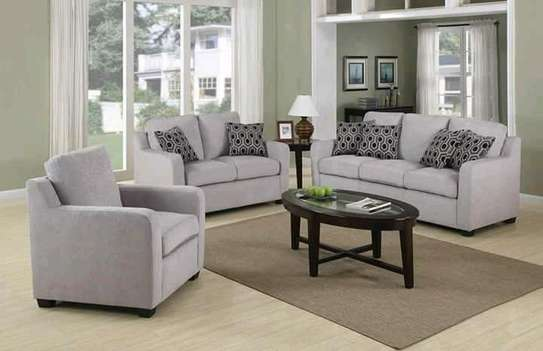 Beautiful Contemporary Quality 6 Seater Sofa image 1