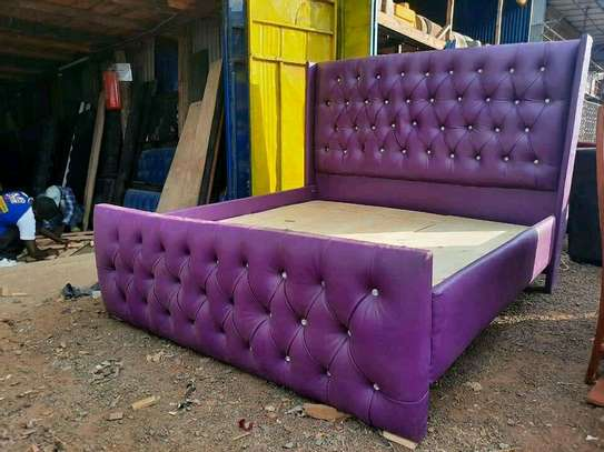 Stylish Contemporary Upholstered 5by6 Bed image 3