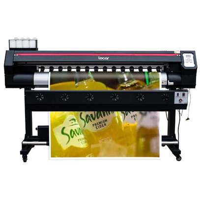 DX11/xp600 heads printing shop machine large format vinyl plotter printer image 1
