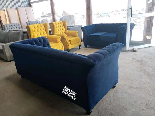 Modern seven seater sofas for sale in Nairobi Kenya/five seater sofas/three seater sofas/blue two seater sofas/yellow one seater sofas/latest chesterfield sofa set designs in Nairobi Kenya image 3