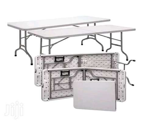 Foldable Long Tables ( New) image 2