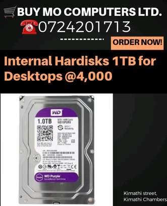 Hardisks 1TB internal for Desktops image 1