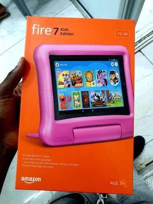 Amazon Fire 7 kids edition (Kids learning tablet). Age 3+ image 1