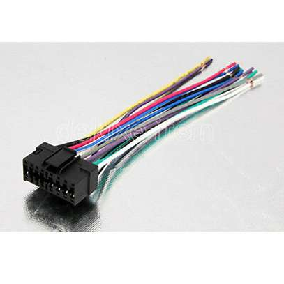 Sony New 16 Pin to ISO Lead Wiring Loom Power Adaptor image 1