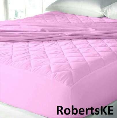 pink mattress cover image 1