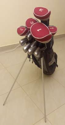 Zevo 13 Piece Complete Golf Set W/ Driver, Woods, Irons