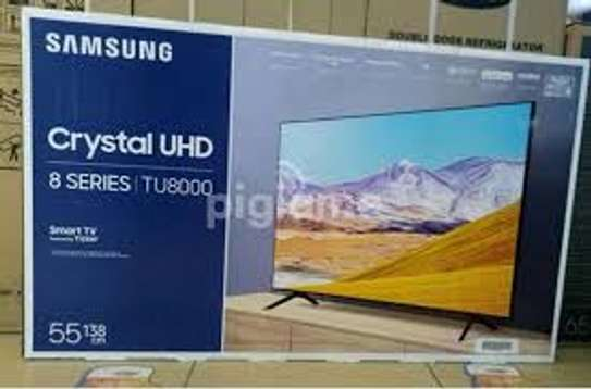 Samsung 65 inch SMART Crystal Uhd TV Tu8000 image 1