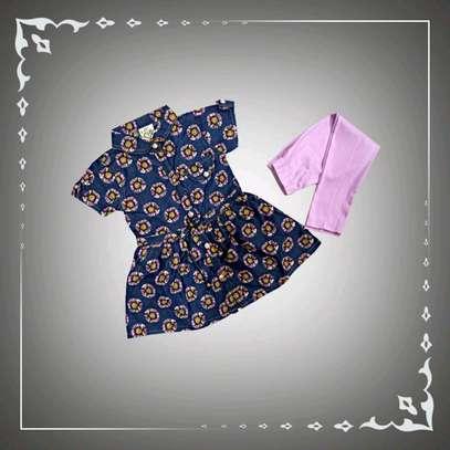 CLASSY SHIRT STYLE DRESS image 1