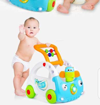 Baby 3in1 Baby Walker & Discovery Car image 9