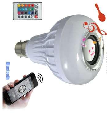 music and light bulb image 1